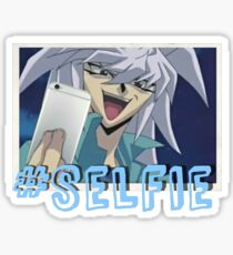 Bakura Selfie Sticker