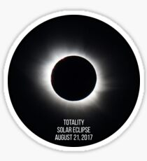 Totality Solar Eclipse Sticker