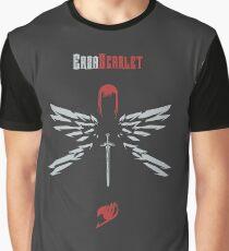 Erza Scarlet // Minimalist // ZeeArt Graphic T-Shirt