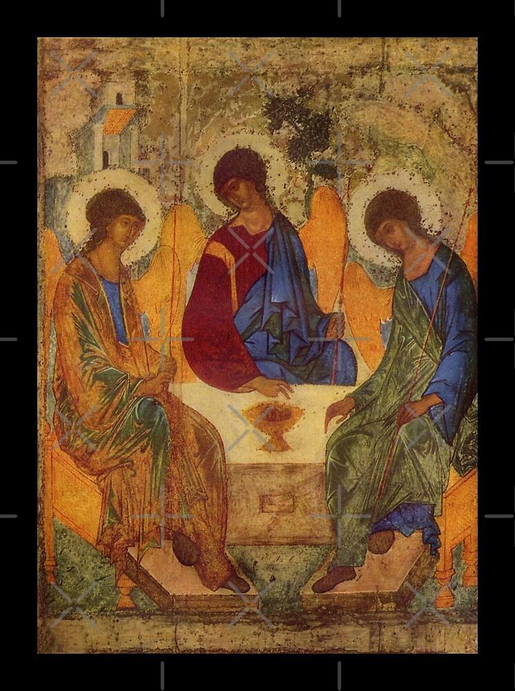 Holy Trinity by Rublev by diane  addis