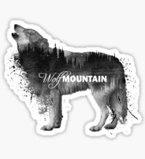 Wolf Mountain Sticker