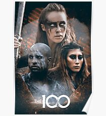 The 100 - Lexa, Lincoln and Anya Poster