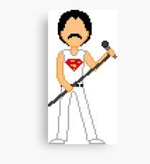 Pixel Freddie Canvas Print