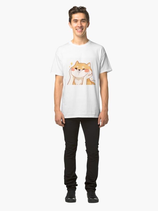 Alternate view of Kawaii Shiba inu Classic T-Shirt