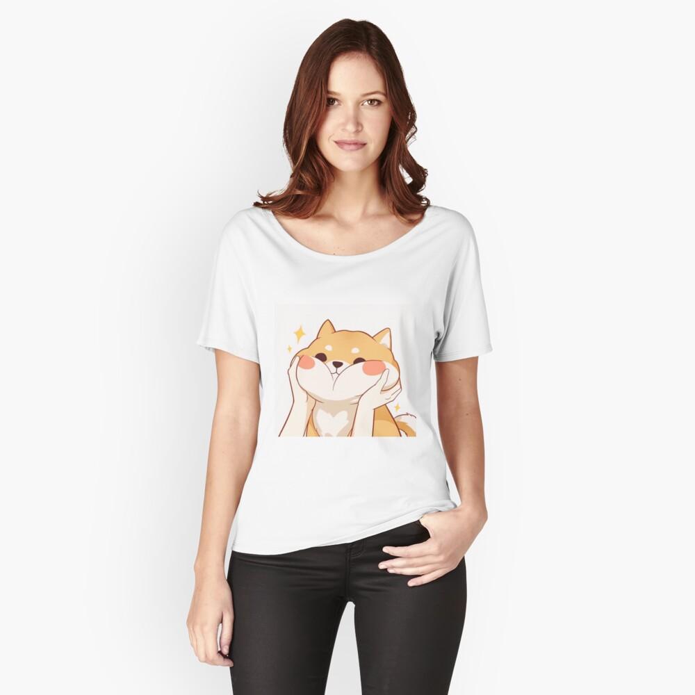 Kawaii Shiba inu Relaxed Fit T-Shirt