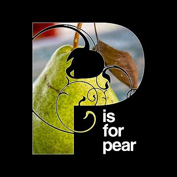 P is for pear by alphabetsoup
