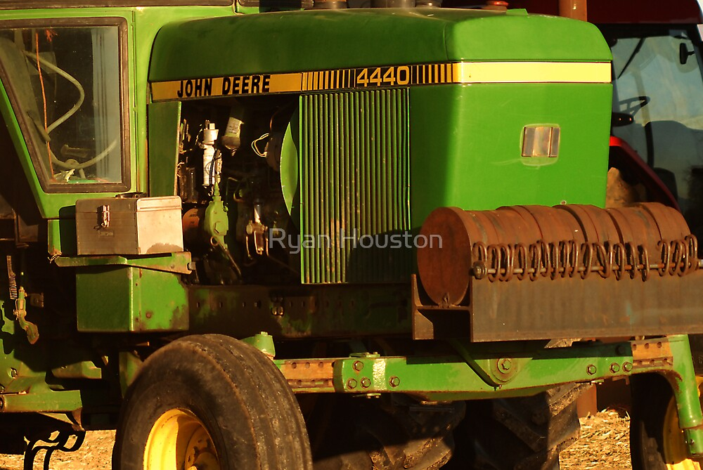 John Deere Tractor by Ryan Houston
