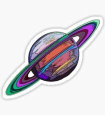 Saturn:  The Ringed Planet Sticker