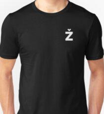 "Žižek's Ž (""polo"", balanced Z) Unisex T-Shirt"