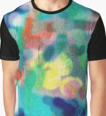 Colour blur Graphic T-Shirt