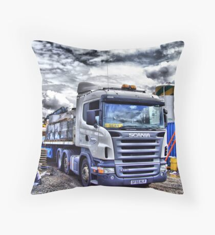 Scania Throw Pillow