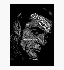 Sean Connery Photographic Print