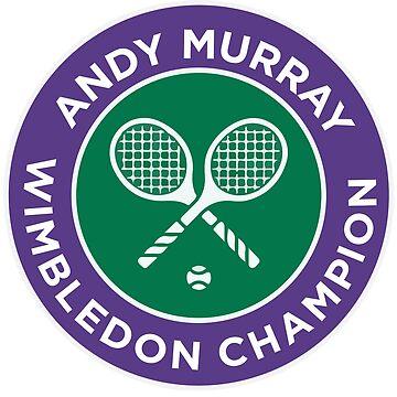 Andy Murray Wimbledon Champion by inkstyl