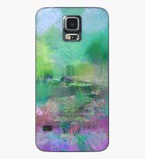 Funda/vinilo para Samsung Galaxy Pastel Impressions of Monet's Water Lily Pond