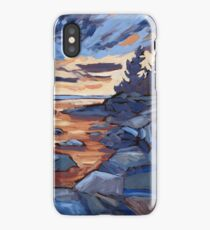 Sunset in Algonquin park  iPhone Case/Skin