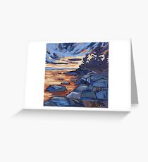 Sunset in Algonquin park  Greeting Card