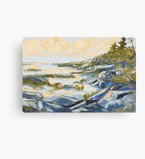 West Coast Rocks Canvas Print