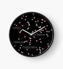 Star Constellations Clock
