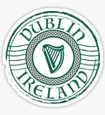 Ireland Stamp Sticker