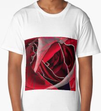 Rose Burn Long T-Shirt