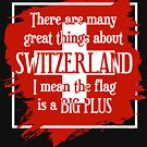 Great Things About Switzerland by HandDrawnTees