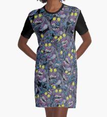 Sharkticon Swarm - LARGE Graphic T-Shirt Dress