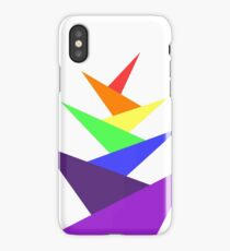 Rainbow Collection - Angular Tree iPhone Case/Skin