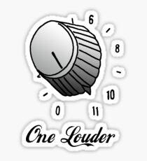 One Louder Sticker
