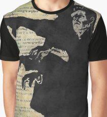 Frankenstein Monster Dictonary Art Graphic T-Shirt