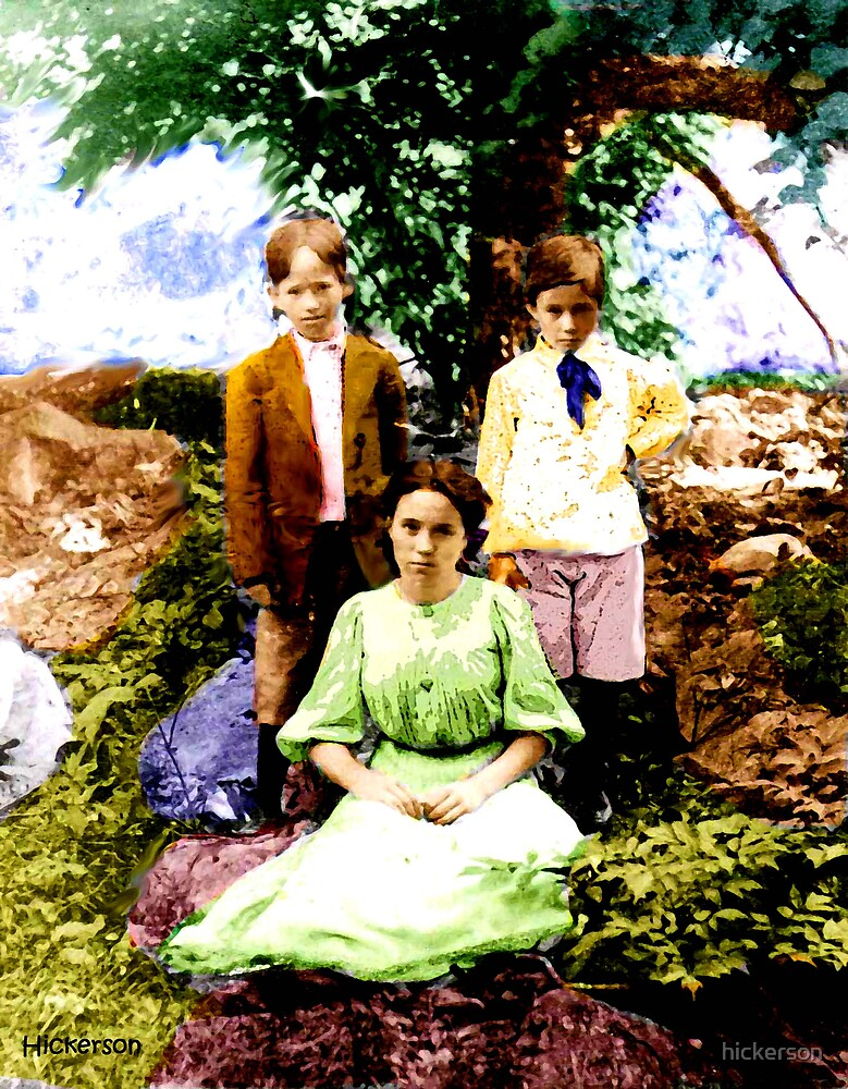 Howard, Ott and the Lady 1907 by hickerson