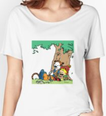Calvin and Hobbes Budokai Women's Relaxed Fit T-Shirt