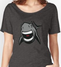 Great White Shark Logo (Front) Women's Relaxed Fit T-Shirt
