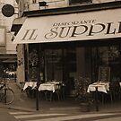 Restaurant on Paris Street by APhillips