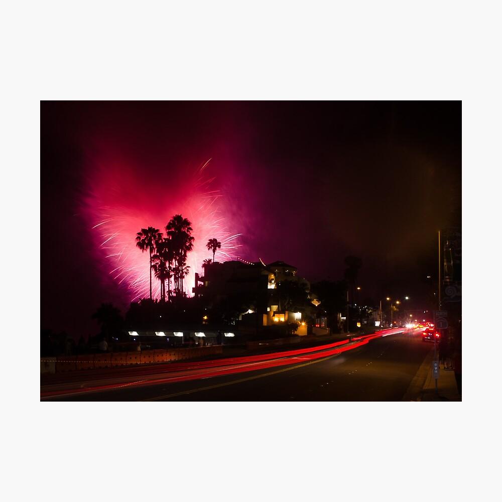 4th of July in Laguna Beach Photographic Print