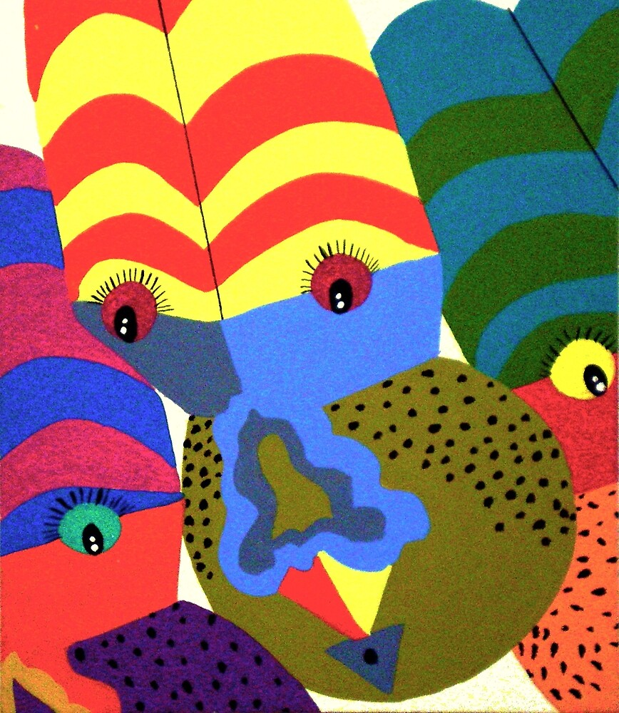 CLOWNS by Tammera