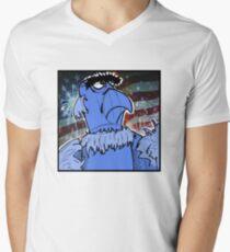 Sam the Eagle Men's V-Neck T-Shirt