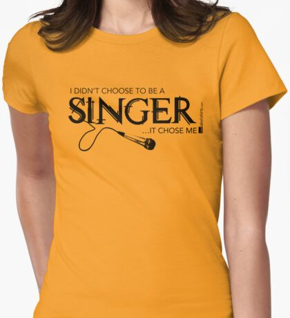 I Didn't Choose The Vocals (Black Lettering) T-Shirt