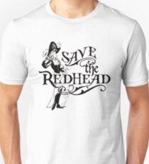 Save the Redhead Caribbean Pirates shirts T-Shirt
