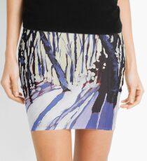 Snow Shadows Mini Skirt