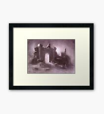 Empty Arch Framed Print