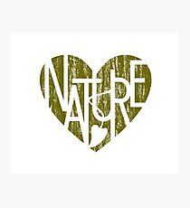 Nature Lover's Heart® Design Photographic Print