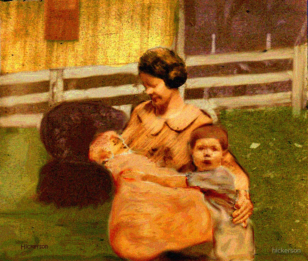 A Mother's Day Long Ago by hickerson