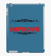 Improve Saying iPad Case/Skin