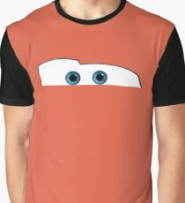 Lightning McQueen Eyes Graphic T-Shirt