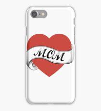 love mom iPhone Case/Skin