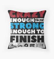 Crazy Strong Throw Pillow