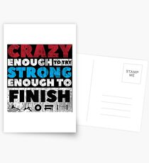 Crazy Strong Postcards