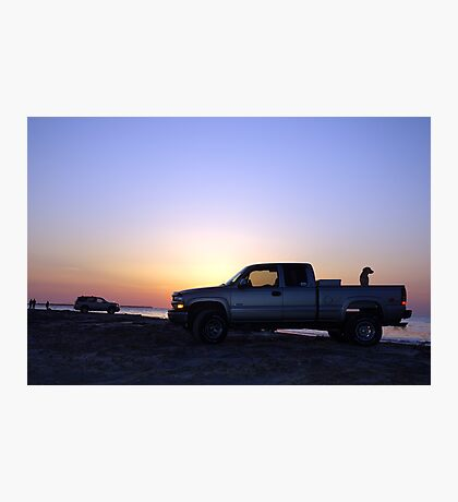 Chevy's Sunset Photographic Print