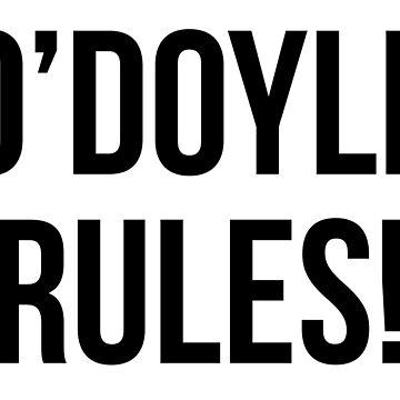 O'Doyle-Regeln! von kjanedesigns