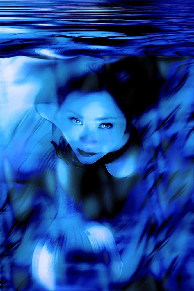 Mermaid (Cynthia) by David Knight